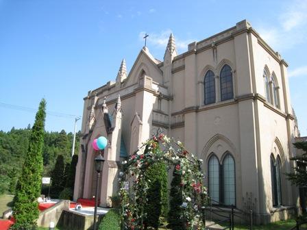 「結婚式場聖フランシスコ教会」の画像検索結果