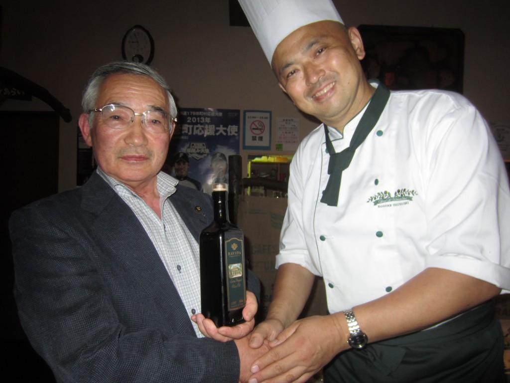熊谷さんからも「白老の活性化を頼むよ!」と言って頂き、感激致しました。頑張ります!