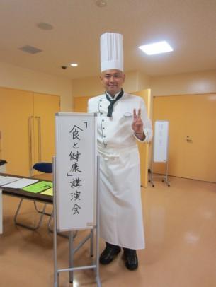 地元・坪井公民館で「食と健康」をテーマに講演させて頂きました