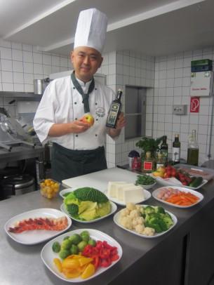 和テイストのオリーブオイル料理を御紹介させて頂きました