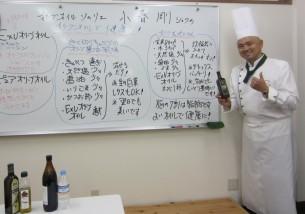 ホワイトボードにも、私がレシピを書いて、解説させて頂きました