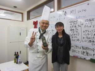 主催者の長野仁美さんは、小児科の看護婦さんでもあります