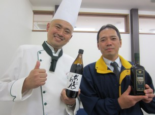 伝統的製法による美味しい醤油を用意して下さった、吉田努さんです