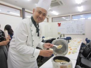 「玄米」にも、EXVオリーブオイルを入れて炊くと、糠臭さも無く、シットリしますよ