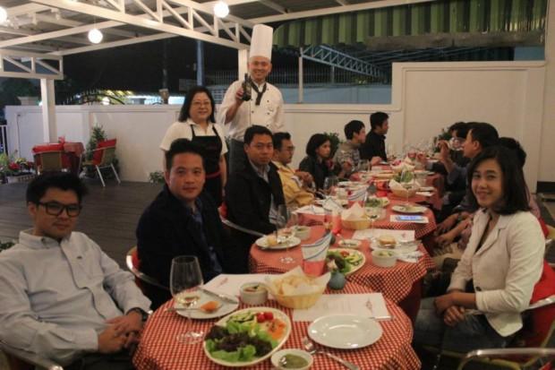 とても楽しく有意義な御食事会でした。次回のリクエストも頂き、感激です!